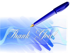 Thank You. illustration