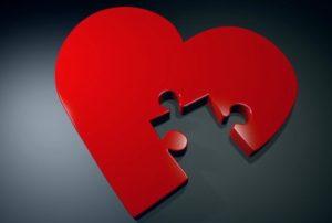 неполное сердце. фото
