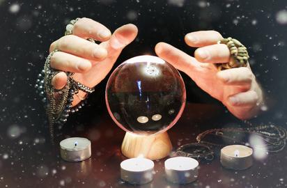 хрустальный шар. фото