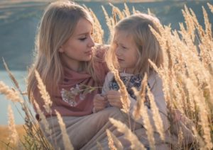 мама с дочерью. фото