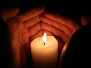 свеча. фото