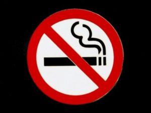 перечеркнутая сигарета. иллюстрация