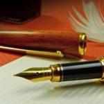 предметы для письма. фото