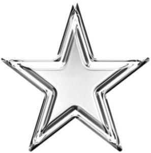 пятиконечная звезда. иллюстрация