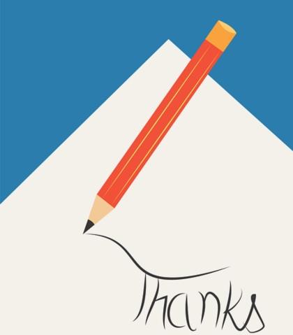 предметы для письма. иллюстрация
