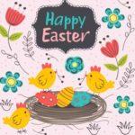 поздравительная открытка на тему Христова Воскресения