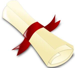 свиток с лентой. иллюстраций
