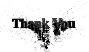 благодарственные слова. иллюстрация