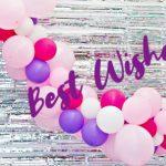 связка воздушных разноцветных шаров. фото