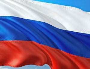 российский флаг. иллюстрация