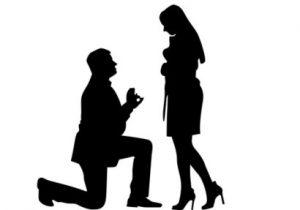 мужской и женский силуэты