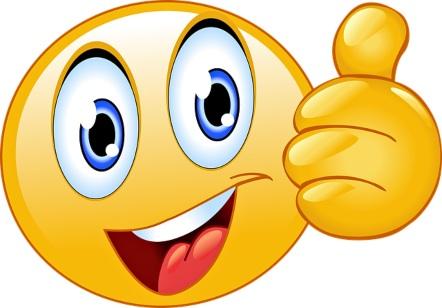 значок эмодзи с поднятым вверх пальцем. иллюстрация