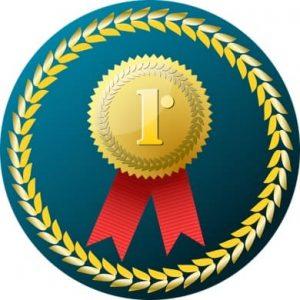 медаль с лентами