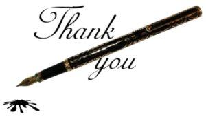 Перьевая ручка с рисунком. иллюстрация